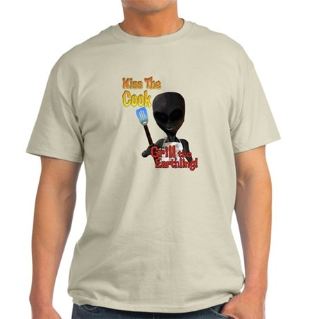 Kiss the Cook Grill the Earth Light T-Shirt