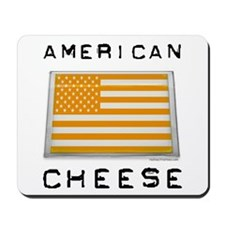 American cheese flag Mousepad