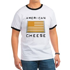 American cheese flag T