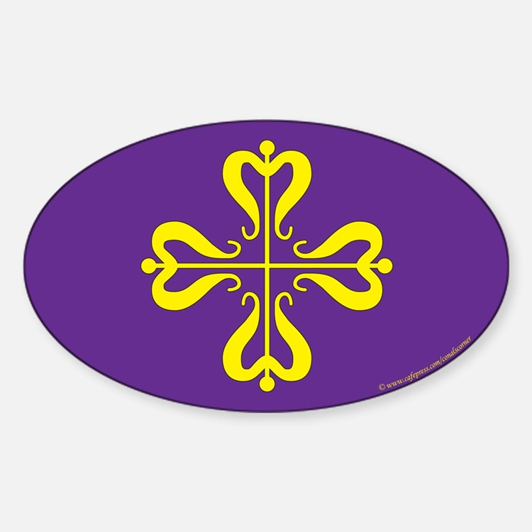 Calontir Ensign Oval Decal