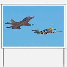F16 Fighter Yard Sign