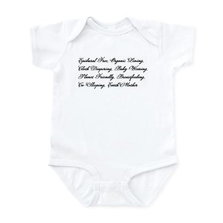 Earth Mother's Manifesto Infant Bodysuit