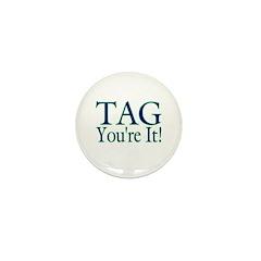 Tag Mini Button (10 pack)