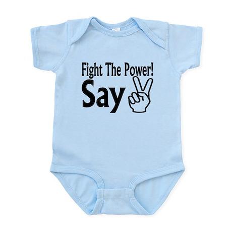 Say Peace Infant Bodysuit