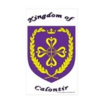 Kingdom of Calontir Rectangle Sticker 50 pk)