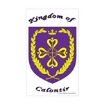 Kingdom of Calontir Rectangle Sticker