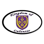 Kingdom of Calontir Oval Sticker (50 pk)