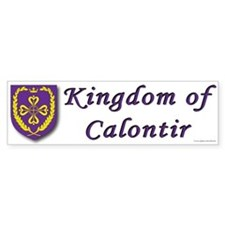 Kingdom of Calontir Bumper Bumper Sticker