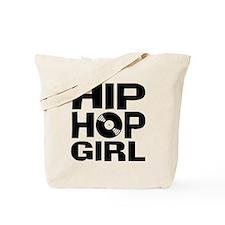 Hip Hop Girl Tote Bag