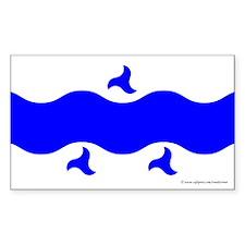 Trimaris Ensign Rectangle Sticker