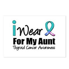 Thyroid Cancer (Aunt) Postcards (Package of 8)