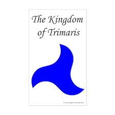 Trimaris Populace Rectangle Sticker
