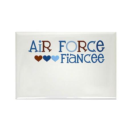AF Fiancee Rectangle Magnet