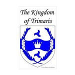 Kingdom of Trimaris Rectangle Sticker 50 pk)