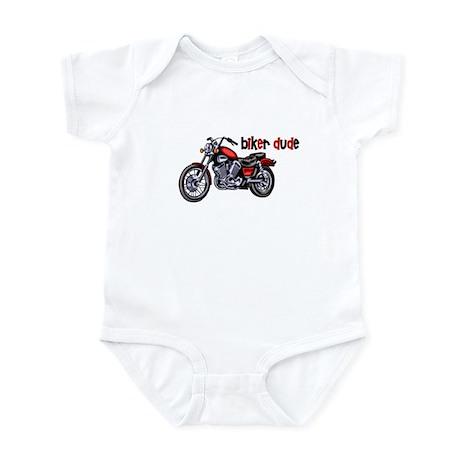 Biker Dude Motorcycle Infant Bodysuit
