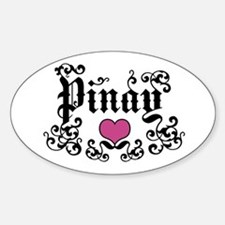Pinay Oval Decal