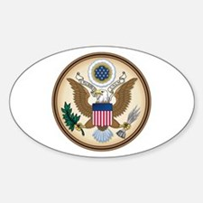 Presidents Seal Oval Decal