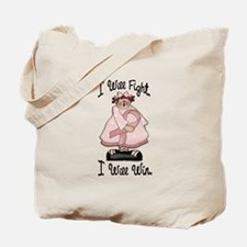 Country Girl Fight Win PINK 2 Tote Bag
