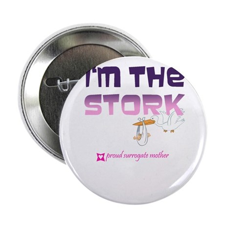 """I'm the Stork 2.25"""" Button"""