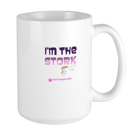 I'm the Stork Large Mug