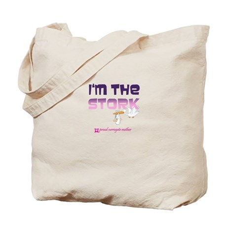 I'm the Stork Tote Bag