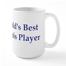 World's Best Tennis Player Mug