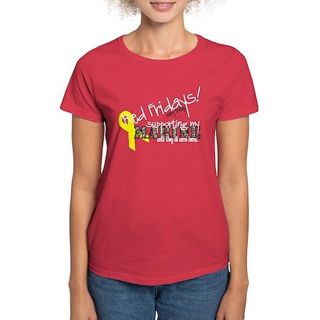 Women's Dark T-Shirt - marine