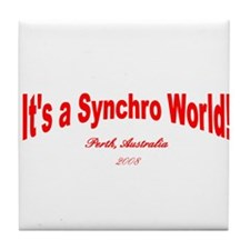Cool Synchro swimming Tile Coaster