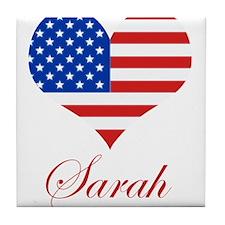 American Sarah Tile Coaster