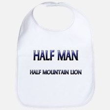 Half Man Half Mountain Lion Bib