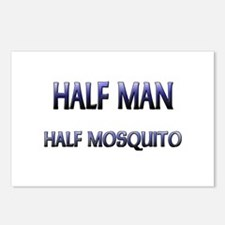 Half Man Half Mosquito Postcards (Package of 8)