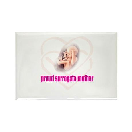 Proud Surrogate Rectangle Magnet
