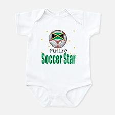 Future Soccer Star Jamacia Baby Infant Bodysuit