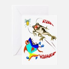 Aim Higher Greeting Card