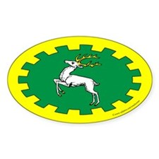 Outlands Populace Ensign Oval Sticker (50 pk)