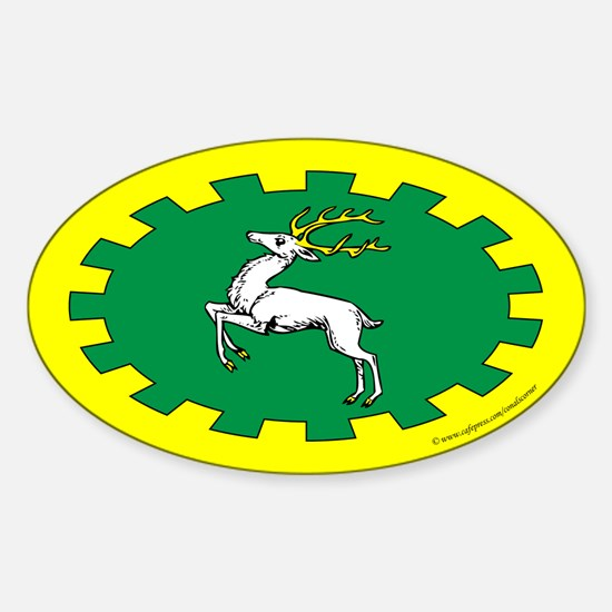 Outlands Populace Ensign Oval Decal
