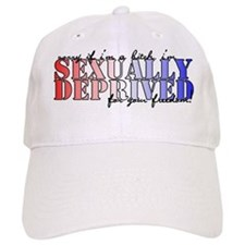 sexually deprived Baseball Cap