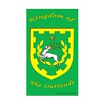 Outlands Rectangle Sticker 50 pk)