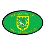 Outlands Oval Sticker (50 pk)