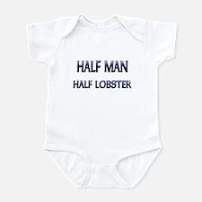 Half Man Half Lobster Infant Bodysuit