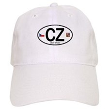 Czech Republic Euro Oval Baseball Cap