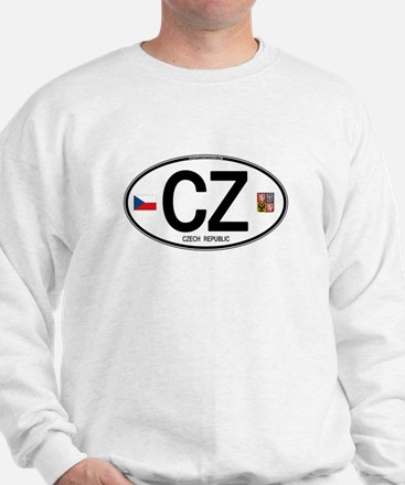 Czech Republic Euro Oval Sweatshirt