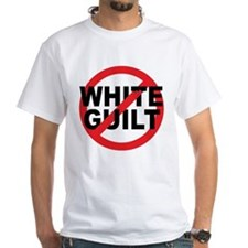 Anti Obama - No White Guilt Shirt