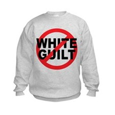 Anti Obama - No White Guilt Sweatshirt