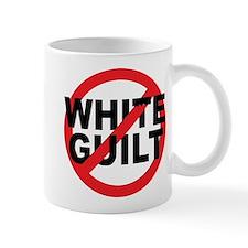 Anti Obama - No White Guilt Mug