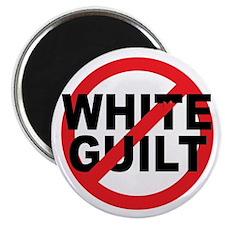 "Anti Obama - No White Guilt 2.25"" Magnet (100 pack"