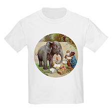 R0OSEVELT BEARS ELEPHANT PICNIC T-Shirt