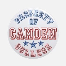 Camden College Property Of Ornament (Round)