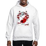 Elles Family Crest Hooded Sweatshirt