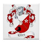 Elles Family Crest Tile Coaster